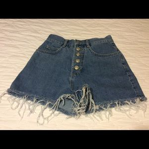 BDG Urban Outfitter High Wasted Jean Shorts
